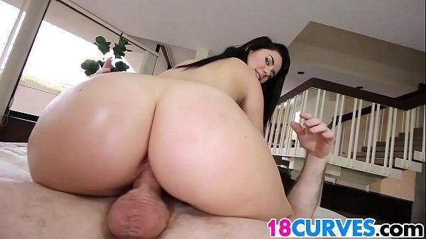 Vídeo de sexo bom com gata morena de bunda gostosa