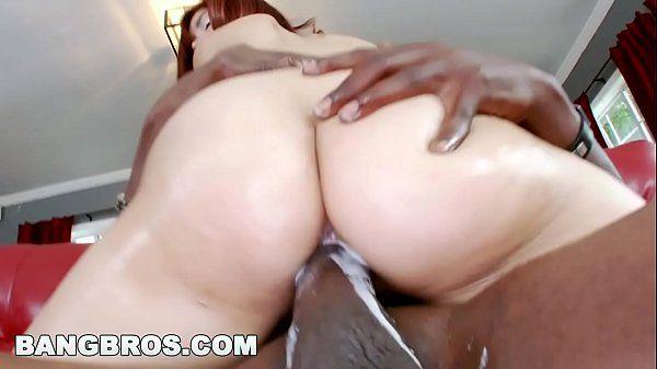 Porno gostoso branquinha rabuda gozou na piroca preta
